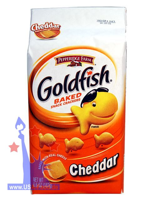 Goldfish snack food for Gold fish snacks