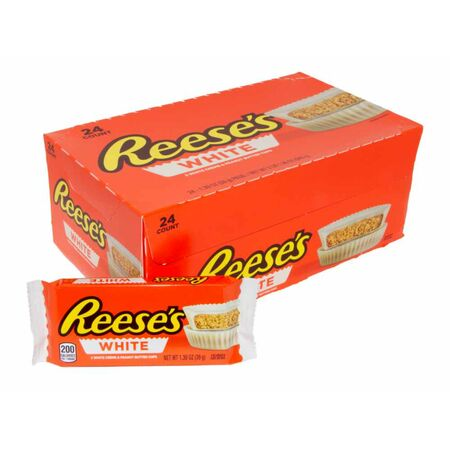 24x Reeses Peanut Butter Cups White