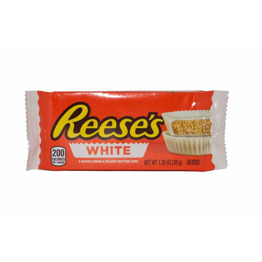 Reeses Peanut Butter Cups White  (MHD 30.08.2019)