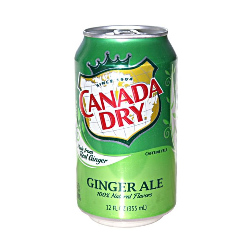 Canada Dry Ginger Ale,  355 ml