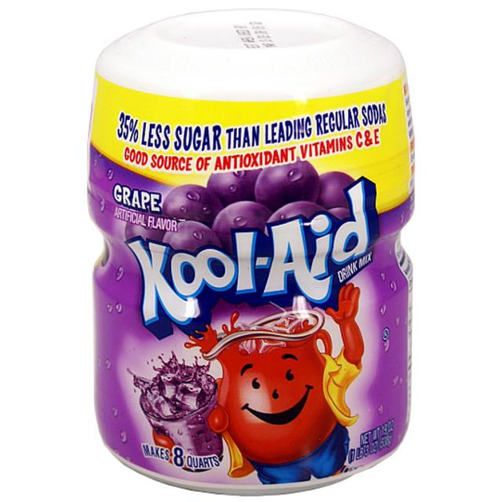 Kool Aid Barrel Grape Brausepulver