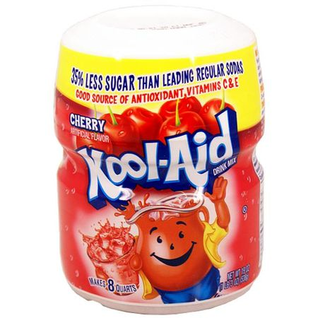 Kool Aid Barrel Cherry, Getränkepulver Soft Drink Mix