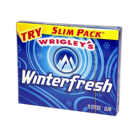 Wrigleys Winterfresh, Kaugummi, USA