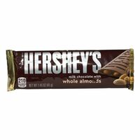 Hersheys Milk Chocolate with Almond, Schokolade