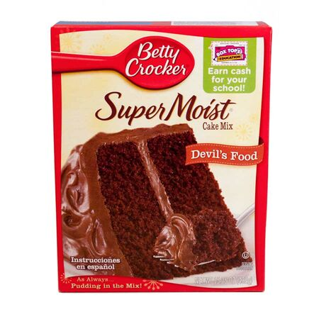 Betty Crocker, Devils Food, Backmischung USA