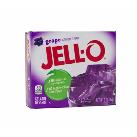 Jell-O Gelatin Dessert Grape, Wackelpudding USA