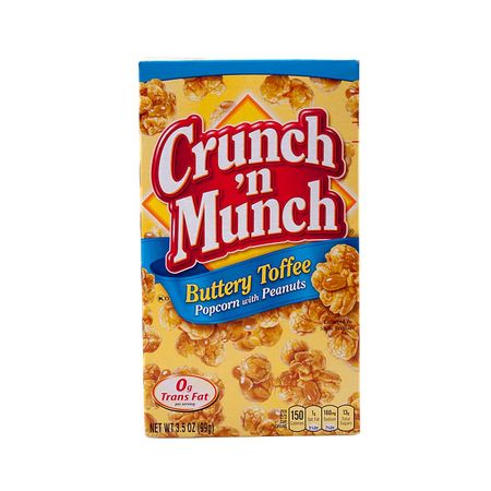 Crunch n Munch Buttery Toffee, Popcorn