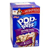 1x8 Kelloggs Pop Tarts Hot Fudge Sundae