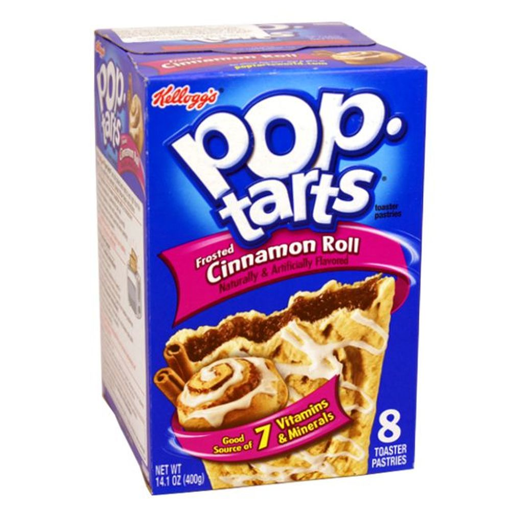 1x8 Kelloggs Pop Tarts Cinnamon Roll