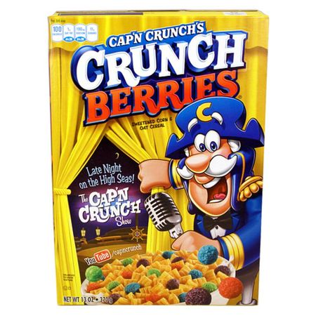 Capn Crunchs Crunch Berries Sweetend Corn & Oat...