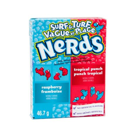 Nerds Surf&Turf Tropical Punch & Raspberry