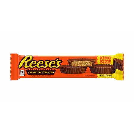 Reeses Peanut Butter Cups - King Size, 79g