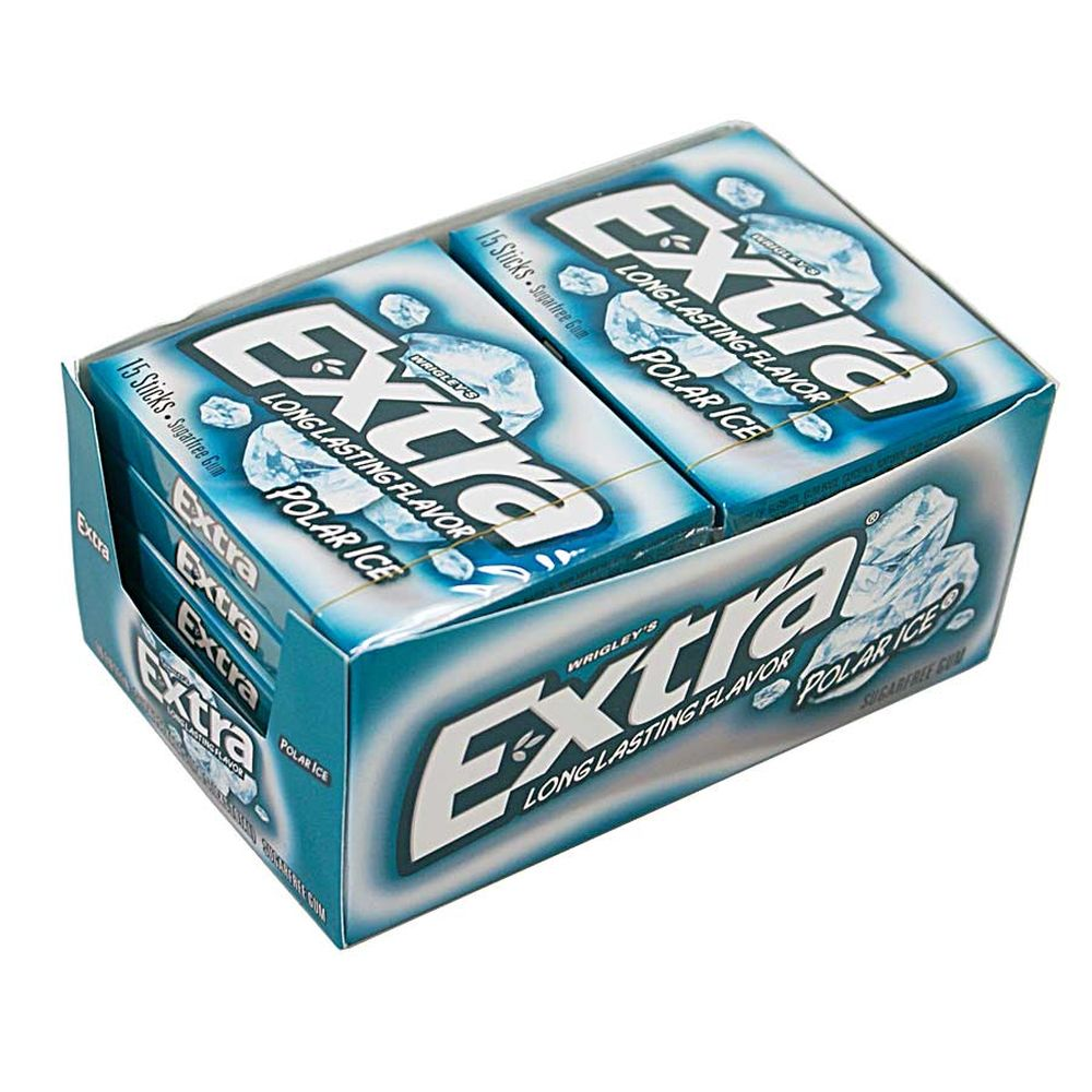 10 Packungen( 1 VPE) Wrigleys Extra Polar Ice