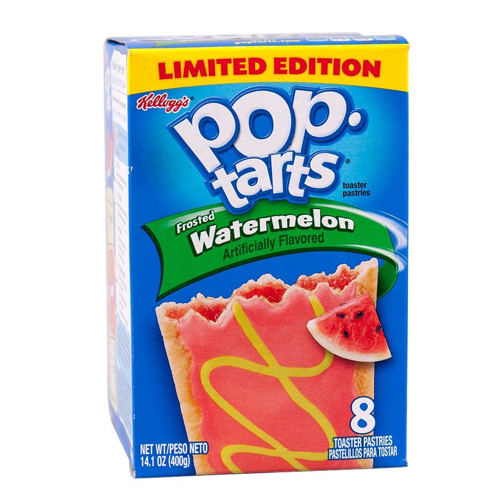 1x8 Kelloggs PoptTarts Frosted Watermelon
