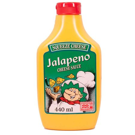 Jalapeno Squeeze Cheese, Käse Sauce, Dip