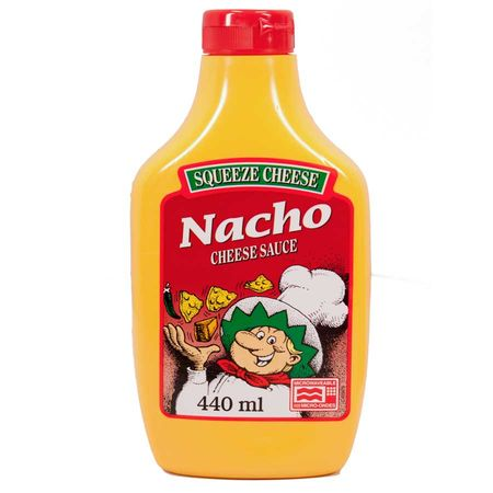 Nacho Squeeze Cheese, Käse Sauce, Dip