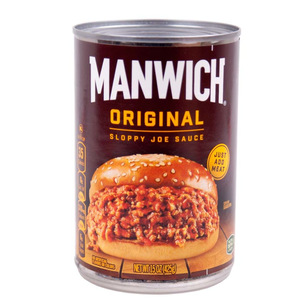 Hunts Manwich Sloppy Joe Sauce, Burgersauce