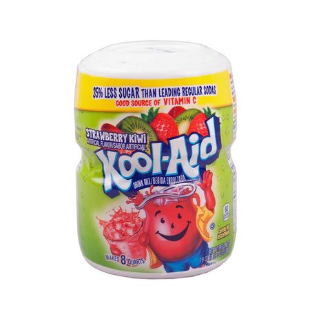 Kool Aid Barrel Strawberry / Kiwi, Soft Drink Mix