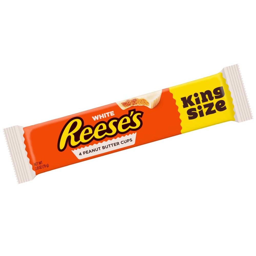 White Reeses Peanut Butter Cups - King Size, 79g