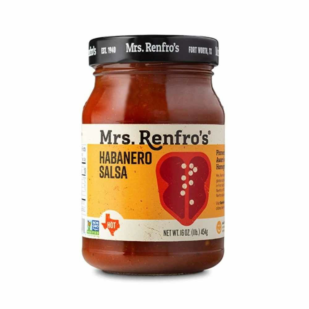 Mrs. Renfros Habanero Salsa Hot