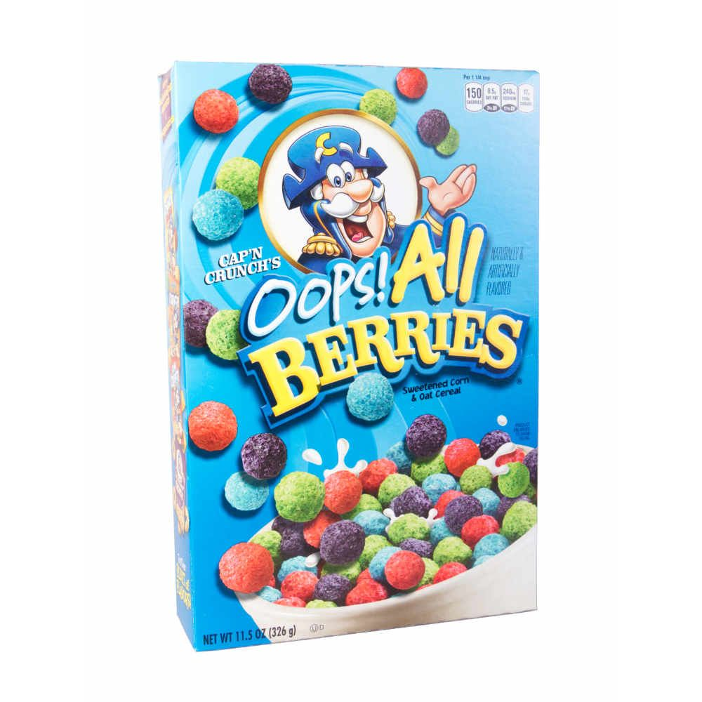 Quaker Capn Crunchs OOPS! All Berries 326g