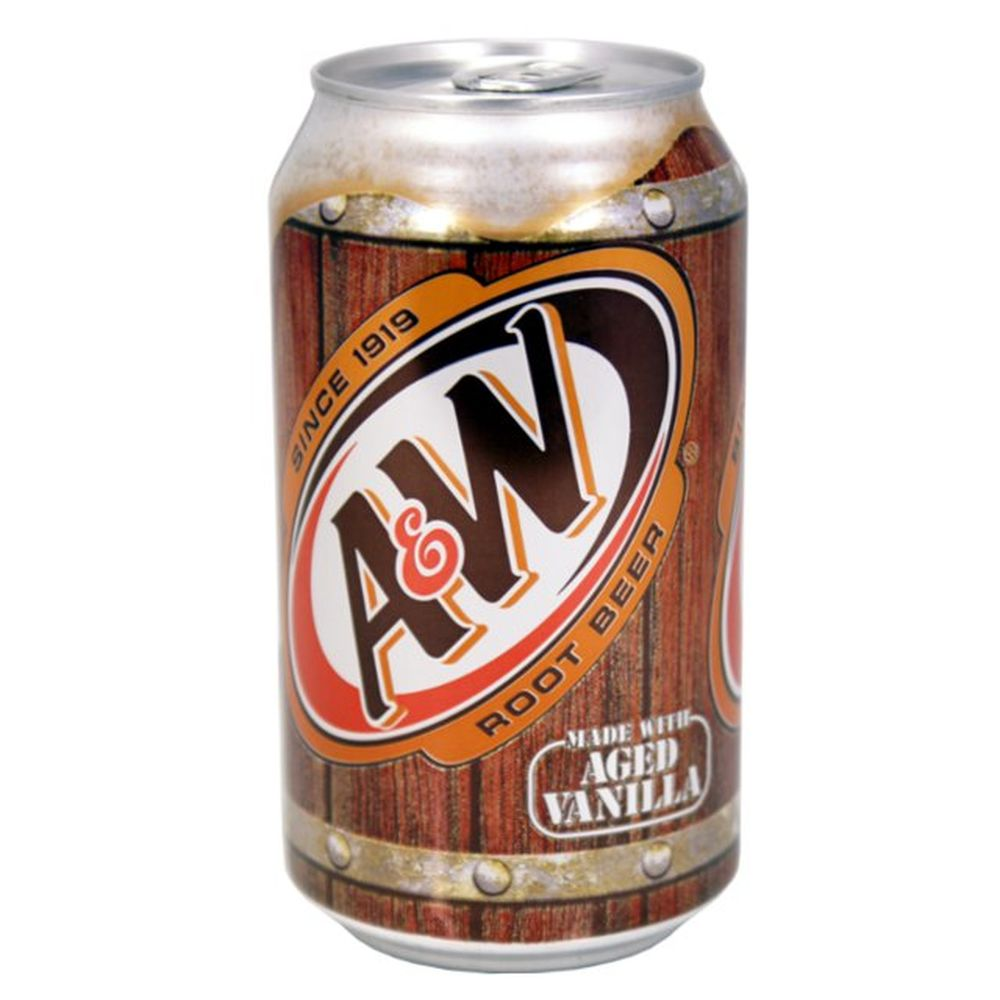 A&W, Root Beer, Kräuterlimonade - Softdrink USA