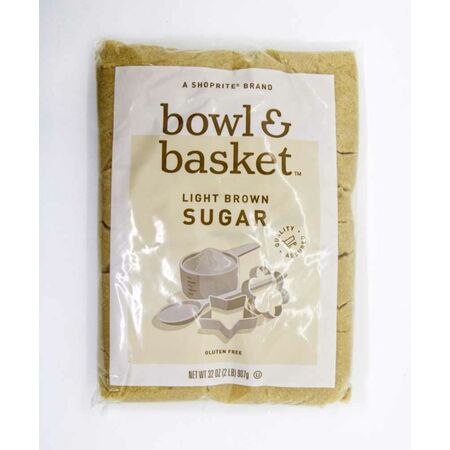 Shoprite bowl & basket Light Brown Sugar, 907g