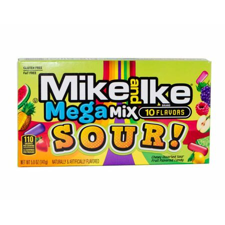 Mike and Ike SOUR Megamix Kaudragees, 141g