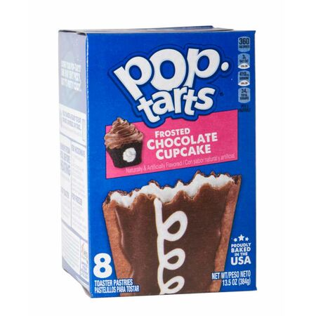 1x8 Kelloggs Pop Tarts Frosted Chocolate Cupcake